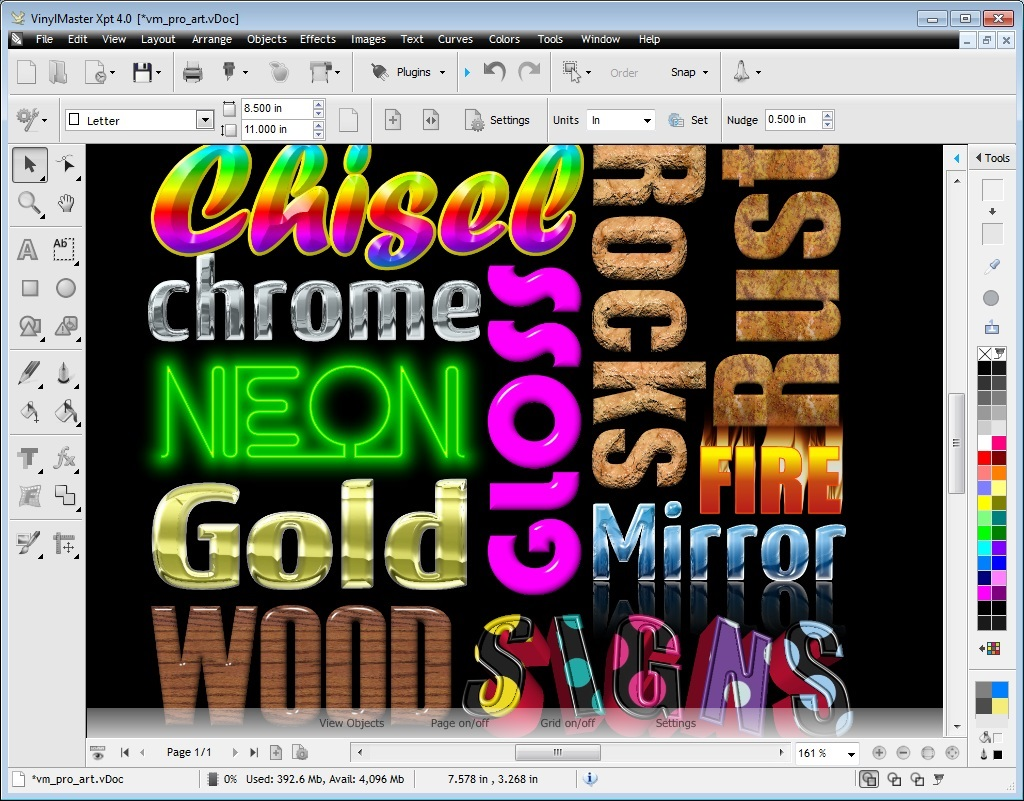 Sticker graphic design software - Easily Create 3d Models Using Vinylmaster Pro Such As These All 3d Effects In Vinylmaster Are Real 100 Interactive 3d Effects And Not Some Clever Trick