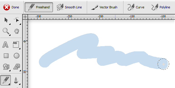 Vector Brush
